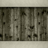 Wooden planks background template Royalty Free Stock Photo