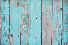 Wooden planks blue serenity Stock Photography