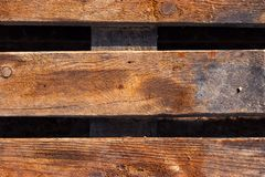 Wooden planks close-up. Photo of wooden pallet close-up Stock Photos