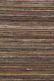 Wooden Planks in a Colorful Pile Texture Stock Photos