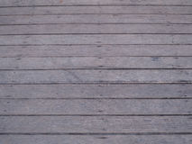 Wooden planks,gray corridors Stock Images