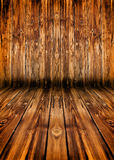 Wooden planks interior Royalty Free Stock Images