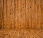 Wooden planks interior Stock Photography