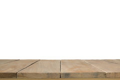 wooden planks isolated on white background. Royalty Free Stock Photos