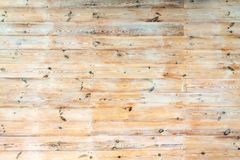 Wooden planks. Scratched old wooden planks. Flat wooden texture Stock Image
