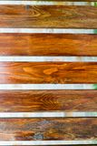 Wooden planks. Several horisontal brown wooden planks background texture Stock Photos