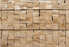 Wooden planks side view Royalty Free Stock Images