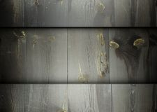 Wooden planks template grunge background Stock Photography