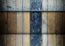 Wooden planks template grunge background Royalty Free Stock Images