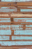 Wooden planks texture with cracked color Paint Royalty Free Stock Photography