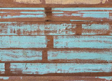 Wooden planks texture with cracked color Paint Royalty Free Stock Photo
