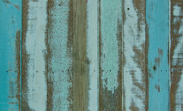 wooden planks texture with cracked color paint for background Stock Image