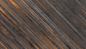 Wooden planks texture. Dark grey and brown Wooden planks texture. Abstract background. 2d illustration Royalty Free Stock Photo