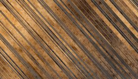 Wooden planks texture. Dark grey and gold Wooden planks texture. Abstract background. 2d illustration Stock Photo