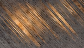 Wooden planks texture. Dark grey and gold Wooden planks texture. Abstract background. 2d illustration Royalty Free Stock Image