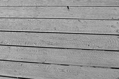 Wooden Planks Background Black And White Monochrome Backdrop. Wood planks in black and white for a background or backdrop Royalty Free Stock Photo