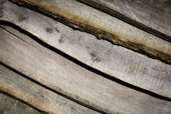 Wooden planks. Wall - abstract background Stock Photo