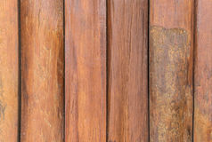 Wooden planks wall for background Royalty Free Stock Photography