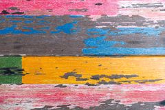 Wooden planks wall texture abstract for background.  stock photography