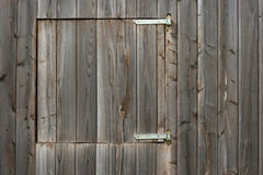 Wooden planks wall with window Stock Photos