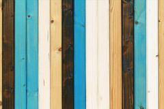 Wooden planks white blue brown, very nice background stock photography