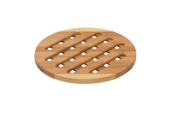 Wooden plate Royalty Free Stock Photography