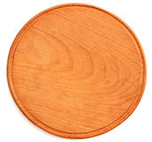 Wooden plate for pizza Stock Photos