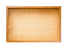 Wooden plate Stock Images