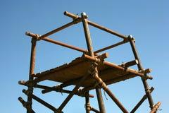 Wooden platform Royalty Free Stock Image
