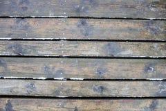 Wooden platform stock photo