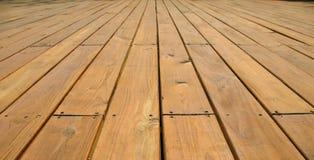 Wooden Platform Deck Stock Photography