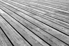 Wooden platform floor background Stock Photo