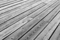 Wooden platform floor background Stock Image