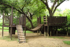 Free Wooden Playground Royalty Free Stock Photo - 18046335
