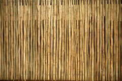 Wooden Pole Screen Texture Royalty Free Stock Image