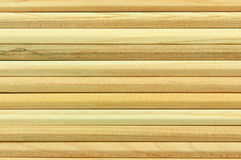 Wooden poles as a background Stock Photography