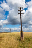 The wooden poles Royalty Free Stock Image
