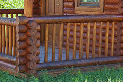 Wooden porch Stock Photo