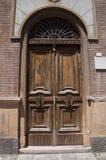 Wooden portal. Royalty Free Stock Photos