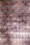 Wooden portal Royalty Free Stock Image