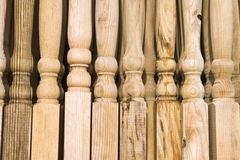 Wooden posts Royalty Free Stock Image