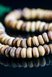 Wooden praying beads II Royalty Free Stock Photography