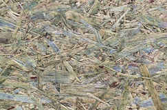 Wooden pressed shavings Royalty Free Stock Photo