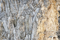 Wooden pressed shavings natural background Royalty Free Stock Image