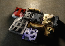Wooden printing blocks form word 'Text''. Graphic look at type a. Wooden printing blocks form word 'Text'. Graphic look at type and typography by using the old stock photography