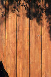 Wooden privacy fence Royalty Free Stock Photos