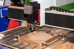 Wooden processing machine Stock Image