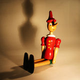 Wooden puppet - Pinocchio Stock Image