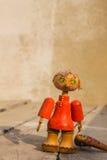 Wooden puppet Stock Photo