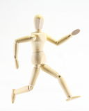 Wooden puppet Royalty Free Stock Photo